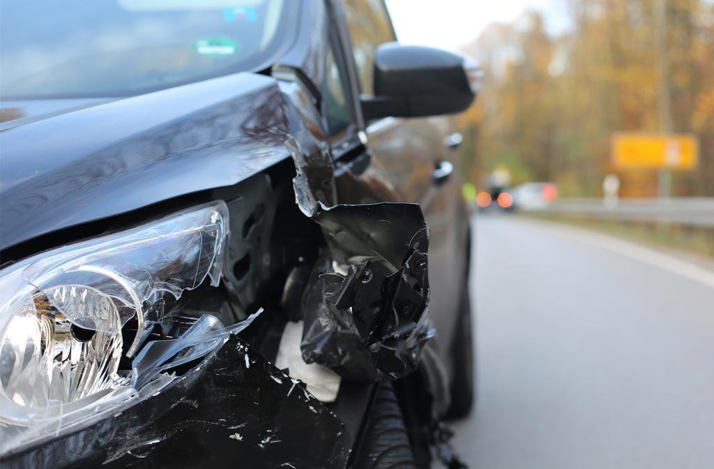 voitures accidentées